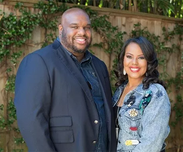 John Gray and Aventer Gray publicly appeared to be the picture of happiness, but behind the scenes, their marriage was crumbling (Credit: John Gray)