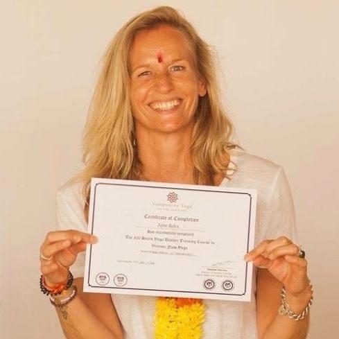300RYT graduation, Sampoorna Yoga, Goa