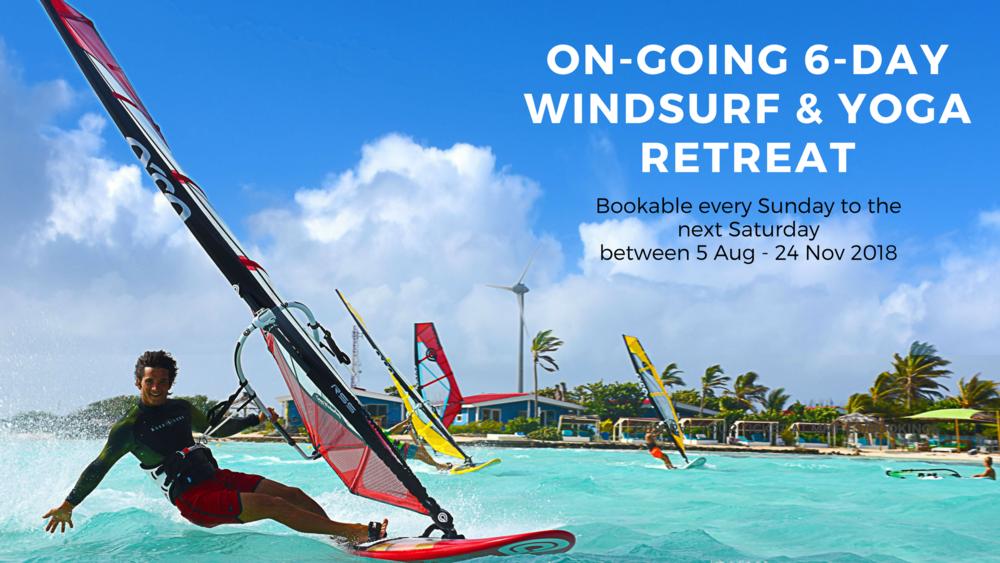 On-going Windsurf & Yoga retreat