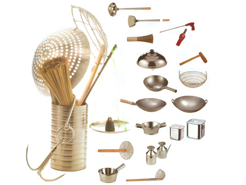 Specialty kitchen gadgets and dinnerware
