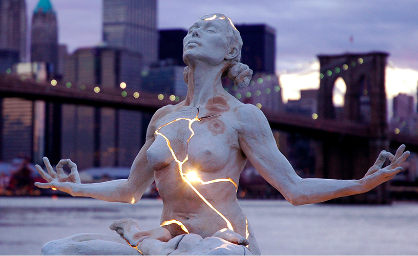 Growth. Statue by Paige Bradley, photographer unknown.