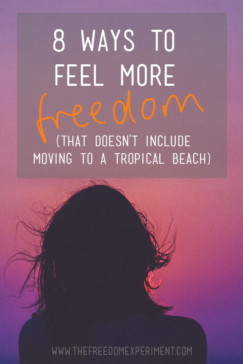 Are you tired and overwhelmed, but want to feel more free?
