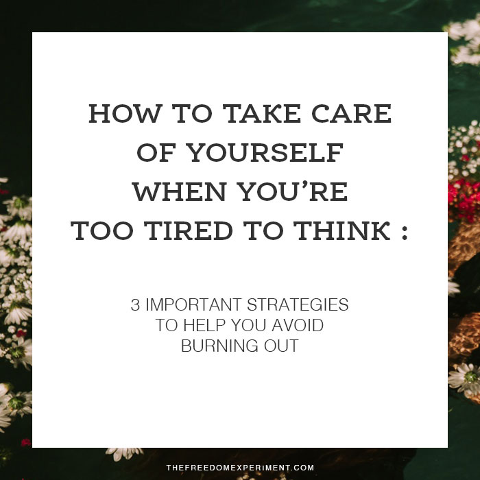 When you're tired, it can be difficult to make good decisions. Follow these steps to make it easier.