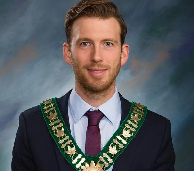 Mayor Adam Lordon -