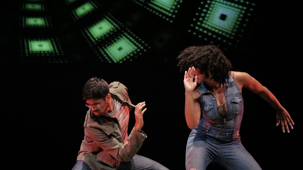 "Vikas Arun and Simone Posey in ""So Fine"" at the 2016 company show"