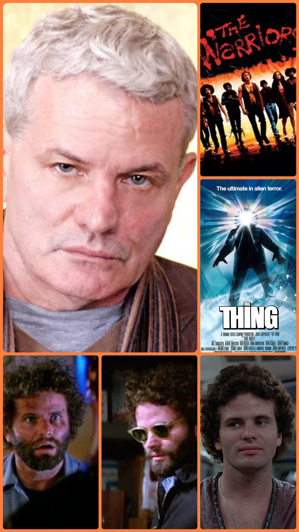 Thomas G Waites  The Thing/ The Warriors   - Thomas G. Waites (born January 8, 1955) is an American actor and acting instructor born in Philadelphia, Pennsylvania. Waites runs an acting studio in New York City which is named for him. He has been a member of the Actors Studio since 1984.