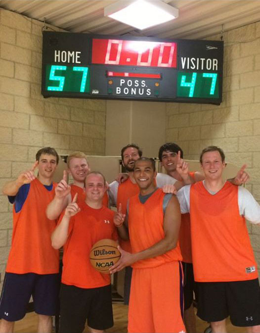 Attorneys with Gallivan White and Boyd celebrated their championship team in the Columba Attorney Basketball League. The team consists of: AJ Holloway, Lindsay Crawford, Chandler Martin, Marshall Crane, John Paul Simkovich, Richard Bouknight, Brian Cohl, and Chris Hawkins .