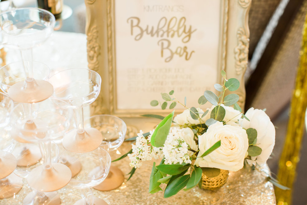 Small arrangement Garden Style Ivory and White Lovely Soiree Floral Designs in Houston, Texas