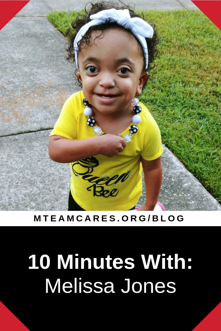 10 Minutes with Melissa Jones - Lani's Mom (Pfeiffer Syndrome)