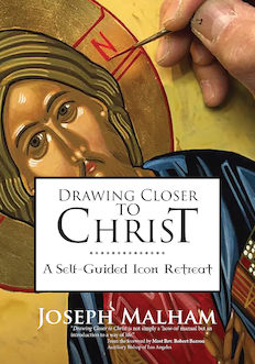 Drawing Closer to ChristA Self-Guided Icon Retreat  - Icons are not only beautiful works of art, but also sacred windows into an unseen world. Internationally acclaimed iconographer Joseph Malham takes you through an eight-day, self-guided contemplative retreat to create your own icon of the Christ Pantocrator (Ruler of All). In Drawing Closer to Christ, Malham relies on his twenty years of teaching experience to walk you through the materials and techniques needed to create your own sacred image.For fifteen hundred years, icons have helped Christians meditate and pray. Used in homes and public worship, these symbolic images represent the presence of Christ and the saints. Malham has been practicing and teaching iconography for twenty years, encouraging ordinary people to create their own icons and be transformed by the spiritual practice. In Drawing Closer to Christ, he invites people of all levels of artistic talent to the contemplative experience of creating a sacred image.