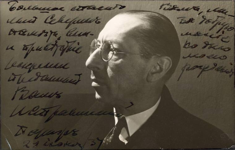 Igor Stravinsky -