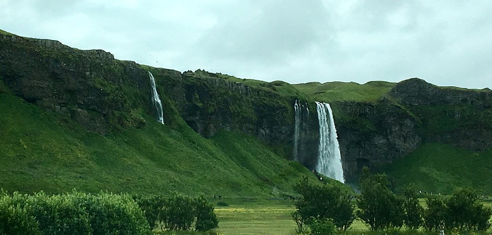 Seljalandsfoss- the busiest waterfall