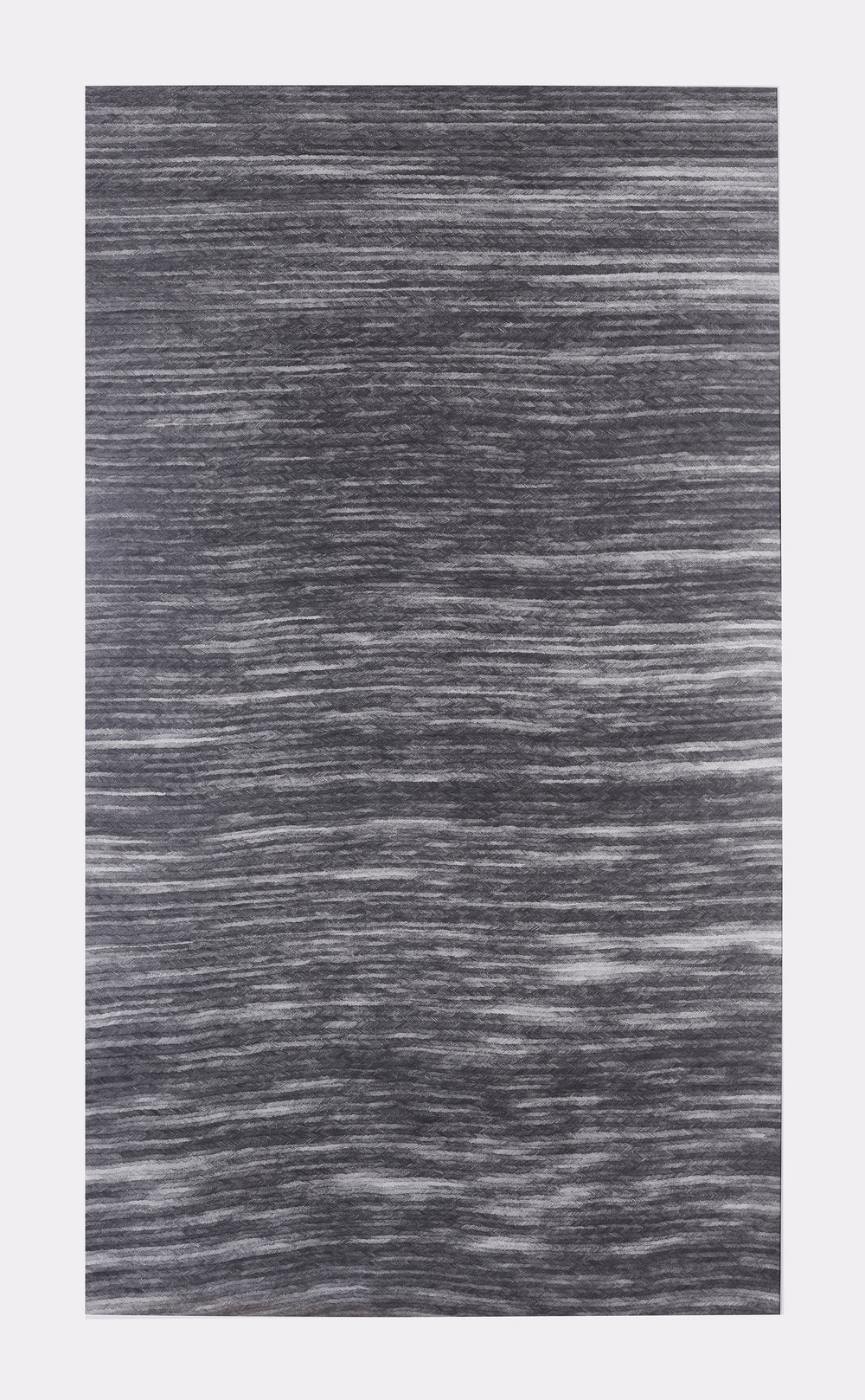 Woven Graphite on paper