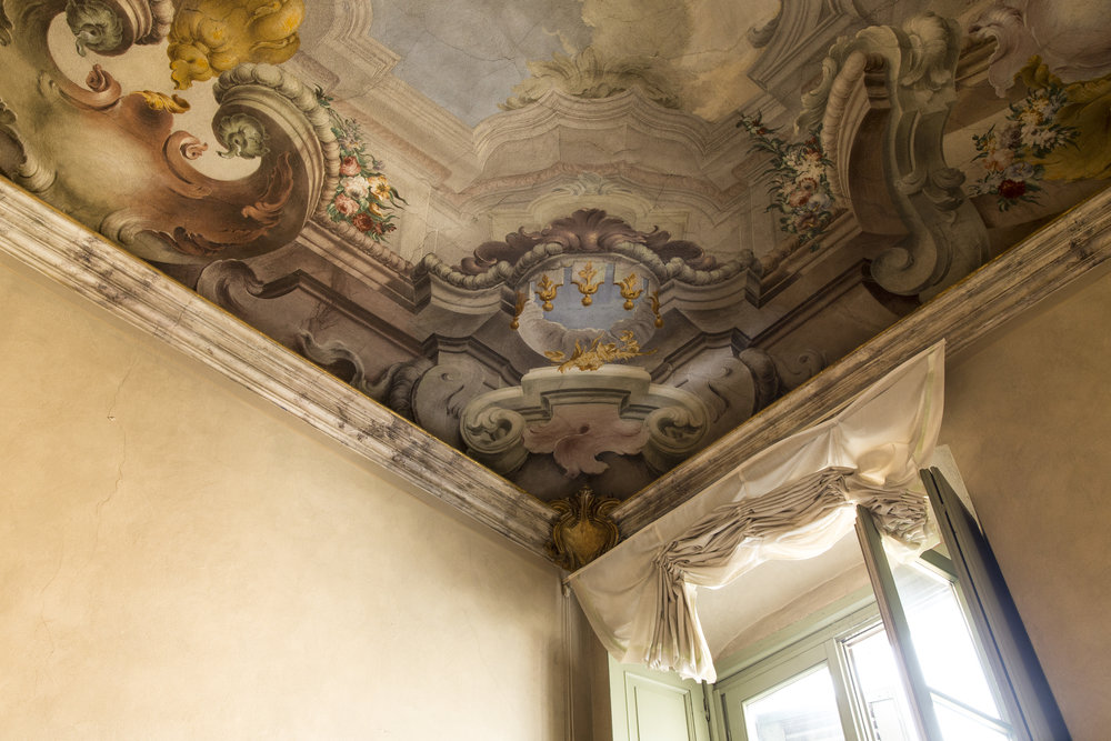 PALAZZO MONTI  Italy 2019  Palazzo Monti is an artist residency program based in Brescia, housed in a 13th Century Palazzo, decorated with Neoclassicist frescos from the late 1750s. Delighted to have taken my work there in April 2019.