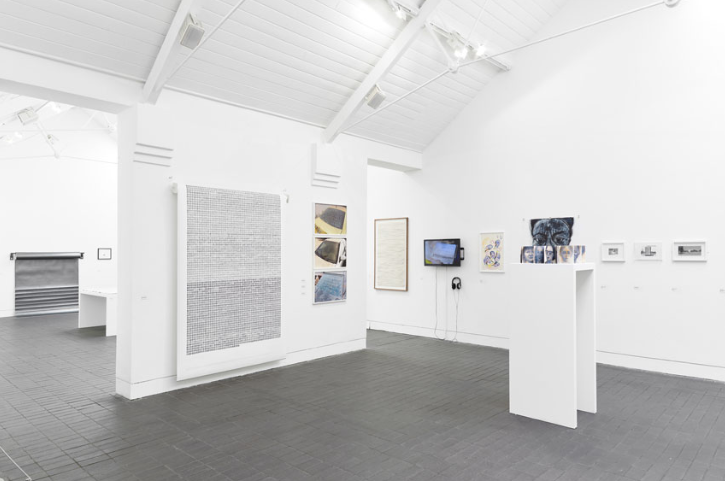 """Weave' in the Jerwood Drawing Prize 2017 - 2018. Jerwood Space London"