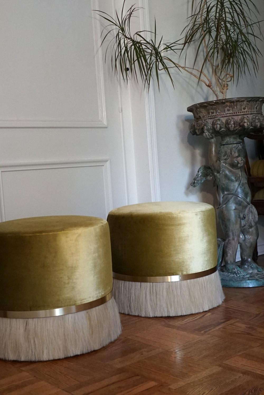 *custom size ottomans
