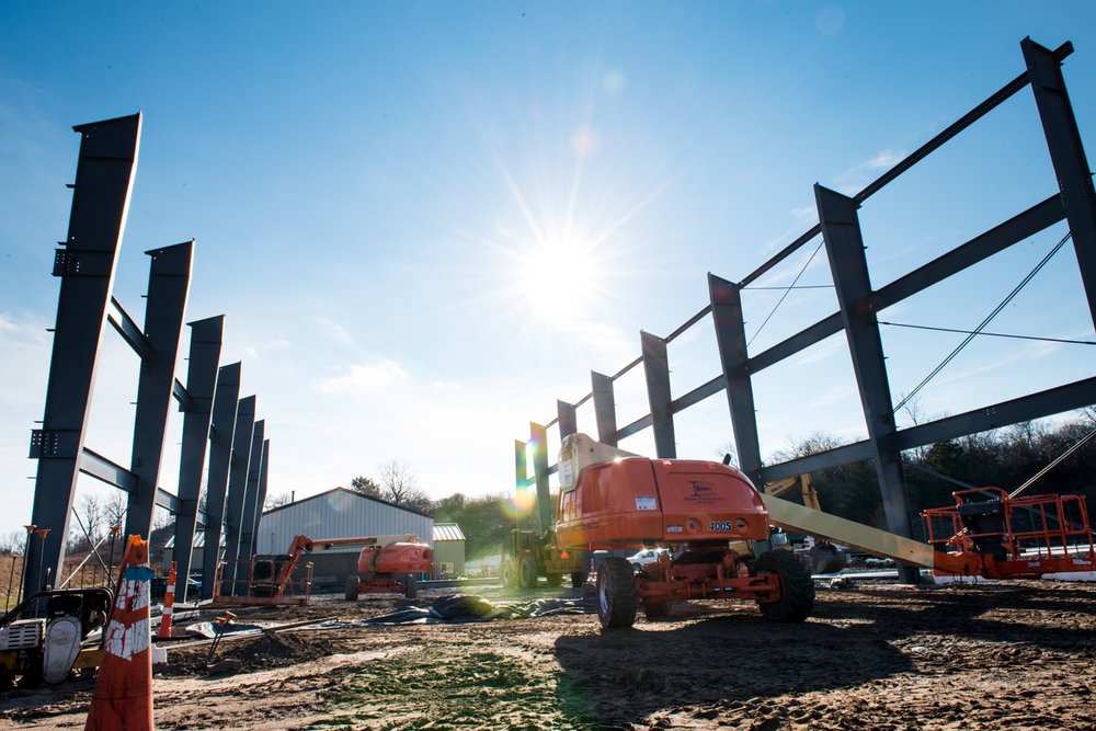 Pre-Engineered Steel - We pride ourselves in being one of the most cost effective steel erectors in Western, NY.