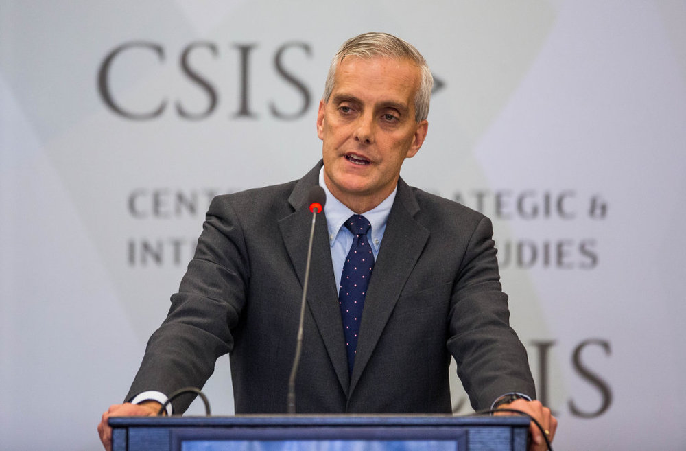 Denis McDonough   The 26th White House Chief of Staff,  Visiting Senior Fellow in Carnegie's Technology and International Affairs Program