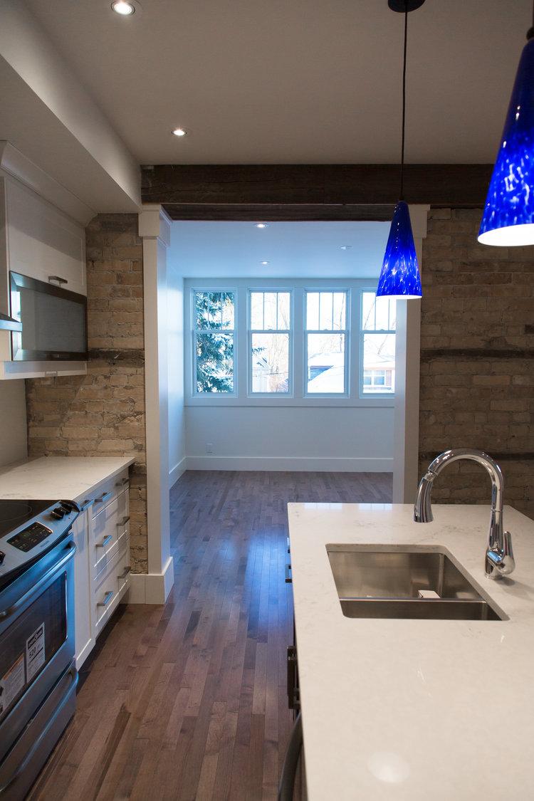 Kitchen at the Benton House