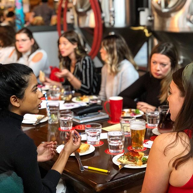 Incredible things happen when badass women get together. That's why @ladieswholaunchkw was formed and why we continue to curate events and experiences to connect like- minded ladies in our region. Our next event is TOMORROW at the newly opened @studioonking which just happens to be run by another badass lady boss @lcoulterphoto. Limited tickets left!!!