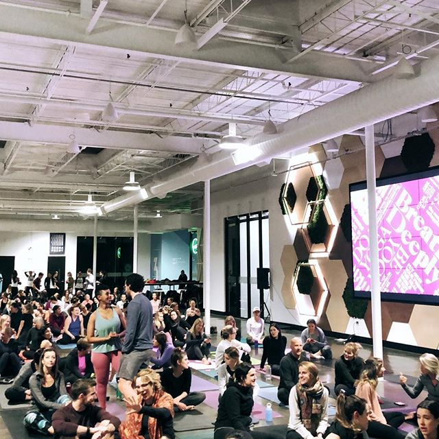 Thinking back to this super fun @lululemon event @catalyst137kw and looking forward to yoga in the park this summer with @queenstreetyoga! Whether you're stuck inside or enjoying the outdoors, remember to bring some friends and get moving!
