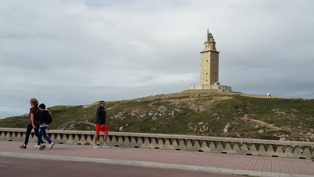 The Torre de Hércules