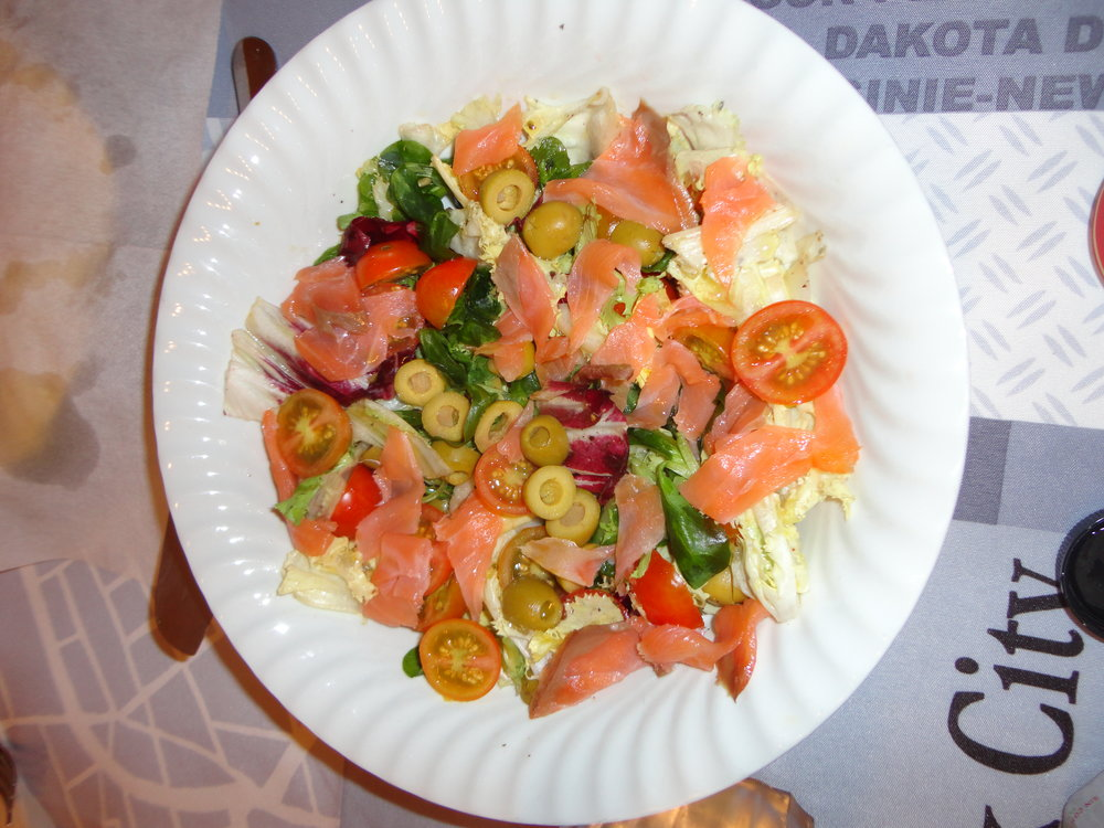 Salad  para  picar .