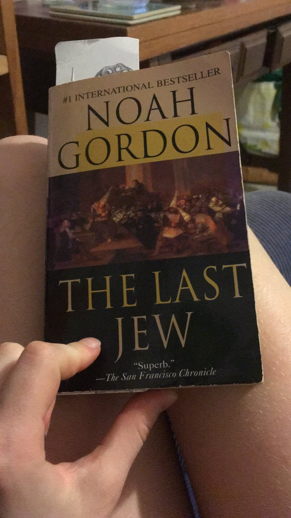 What I have been reading―a novel based on Spanish history.