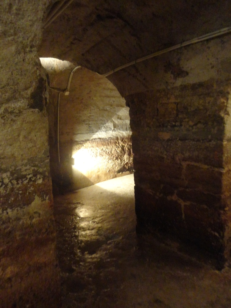 The city of Lisbon is built upon a Roman city and once a year they drain water out of this infrastructure and let you explore Lisbon below ground.