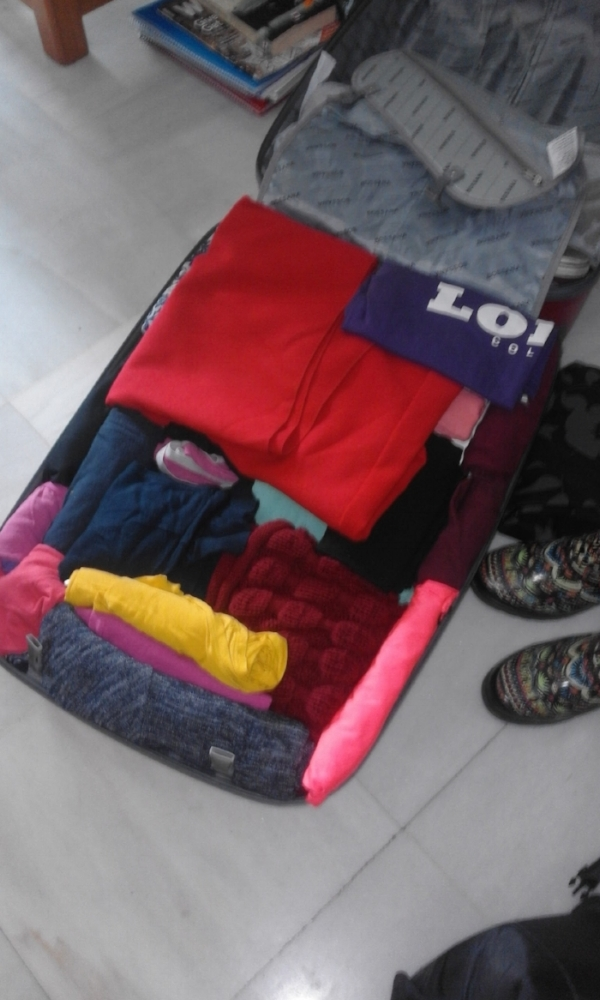 Be logical about what you roll and what you fold for optimal space-usage.