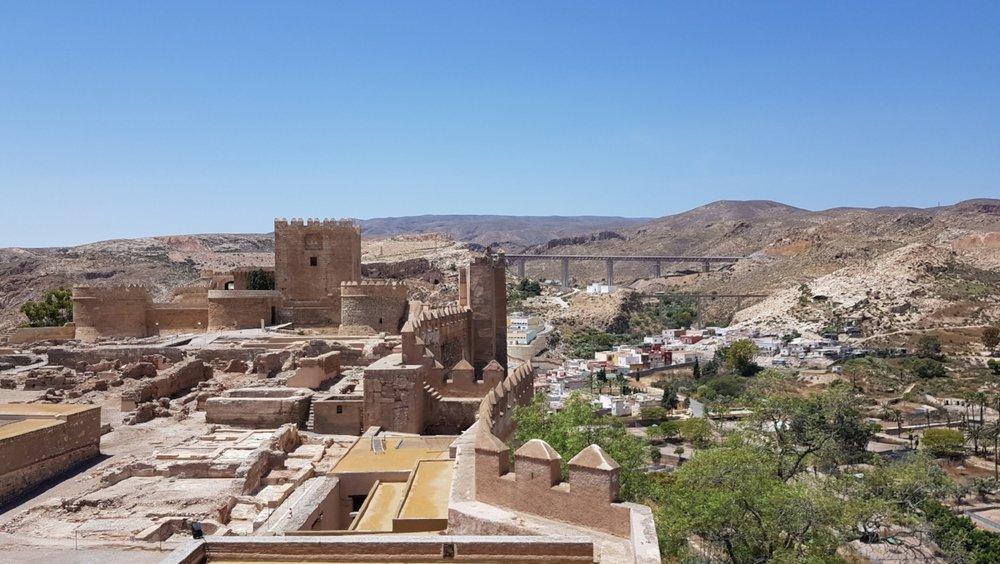 The  Alcazaba de Almer í a  is full of history and mystery.