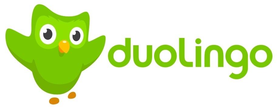 Duolingo logo.