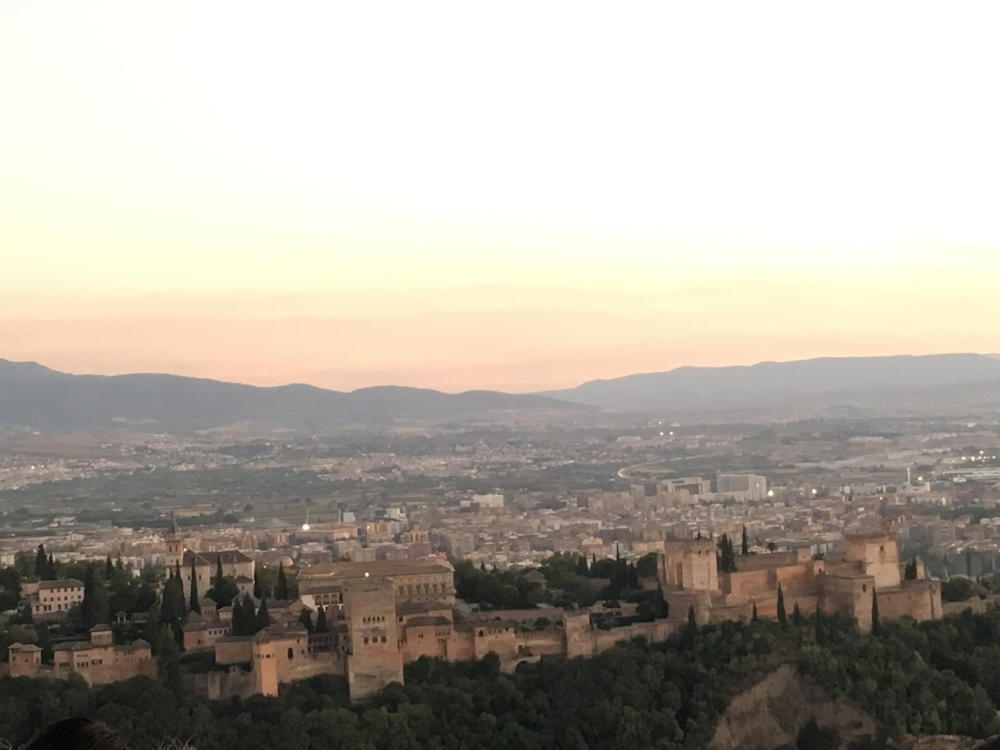 In two days my brother's couchsurfer was integrated into the family and got to see Granada from a local's perspective. She was travelling alone.