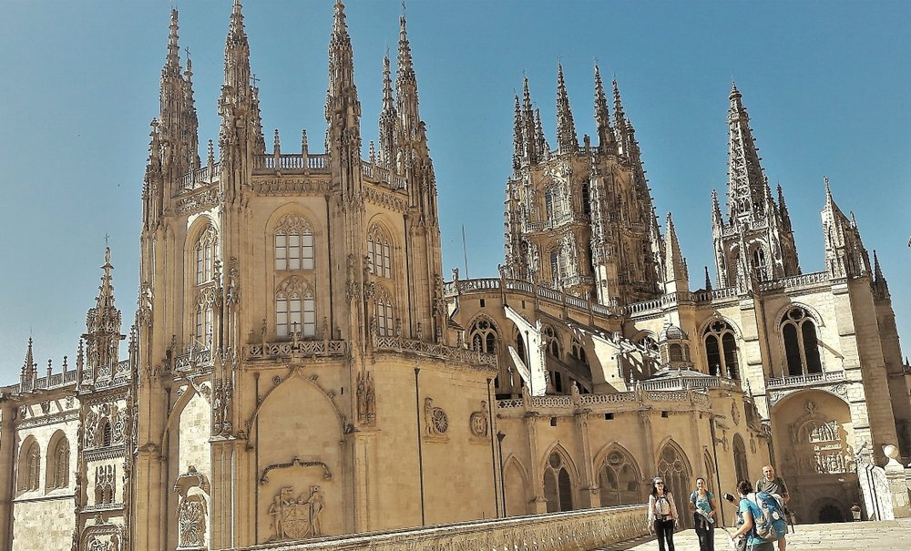 The Cathedral of Burgos is a testament to evolving Gothic architecture―impressive from every angle!