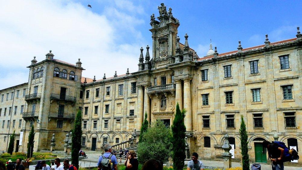 University of Santiago building