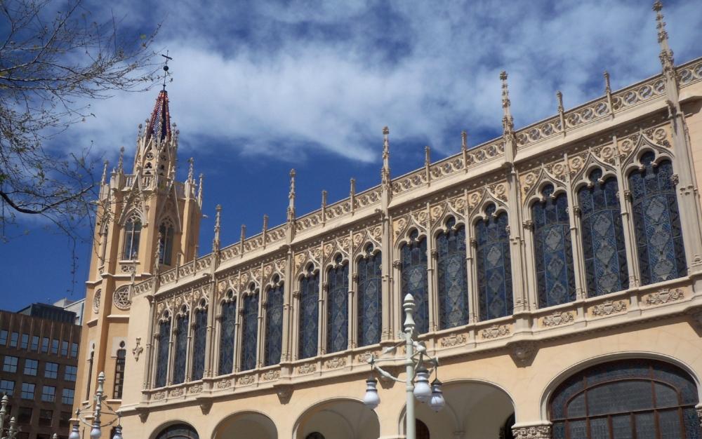Valencia's city center.
