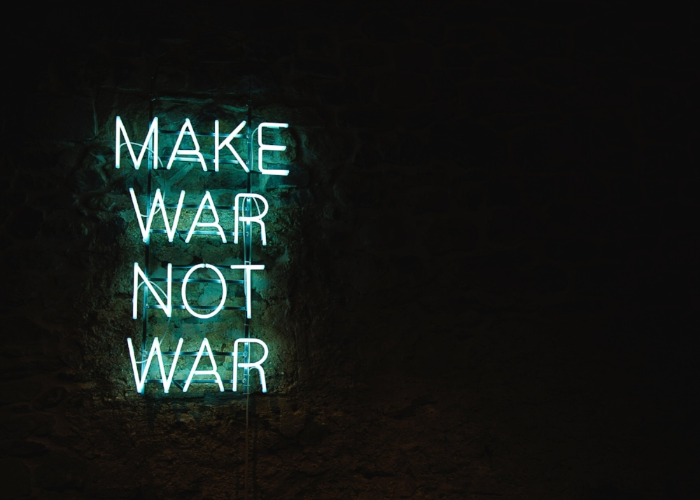 War always makes me question so many things about life. Photo by  Camille / Kmile  on  Unsplash