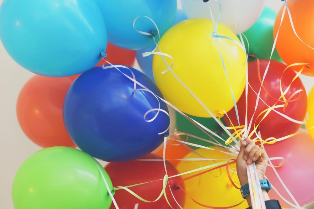 Birthday Balloons. Photo Source: Photo by Gaelle Marcel on Unsplash