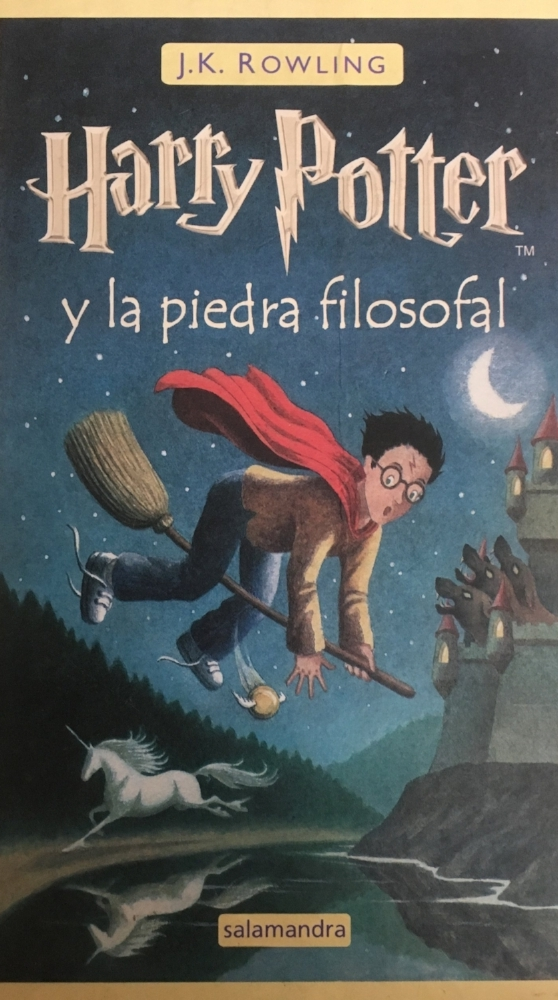 Harry Potter and the Philosopher's (Sorcerer's) Stone in Spanish
