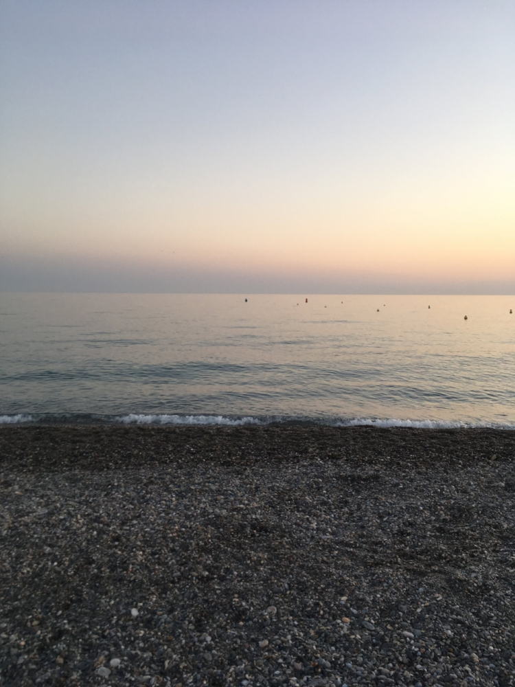 I am a sucker for a beach sunset. <3