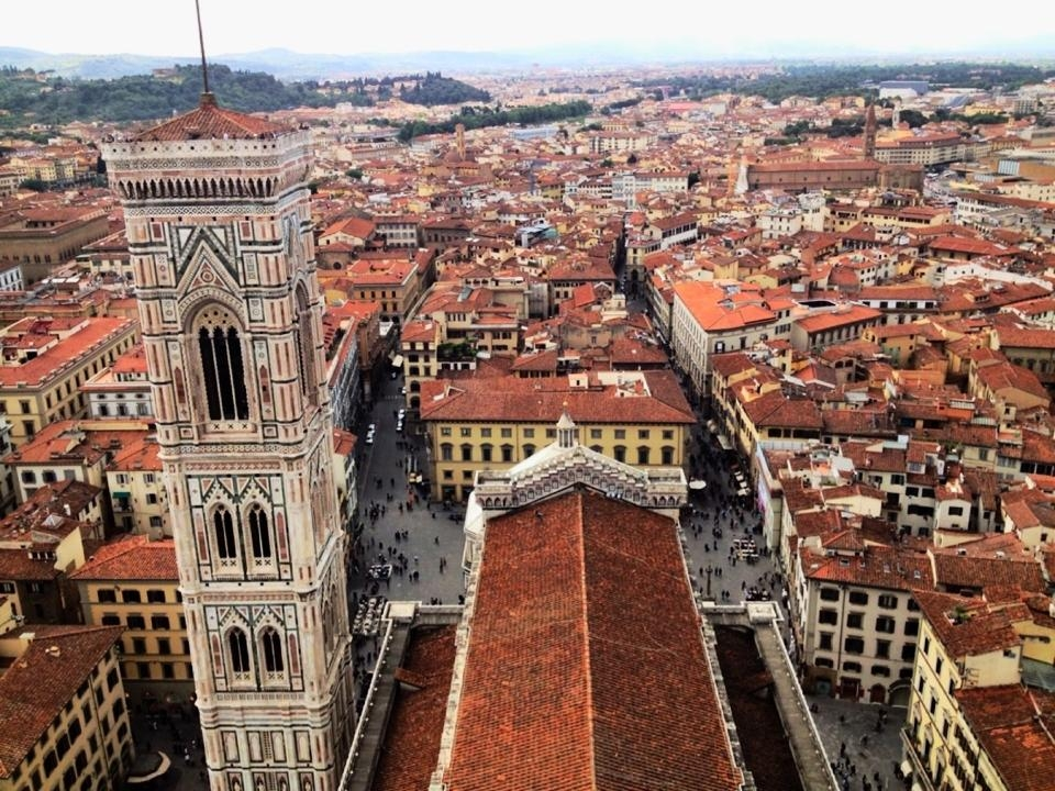 Florence, Italy: View from the Duomo