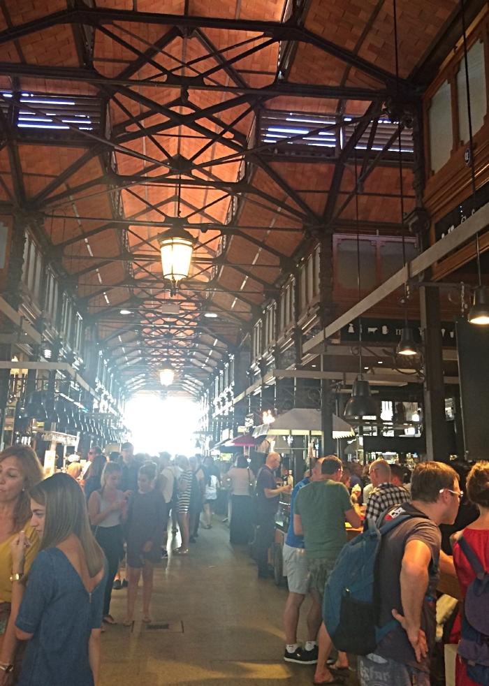 We love food markets!