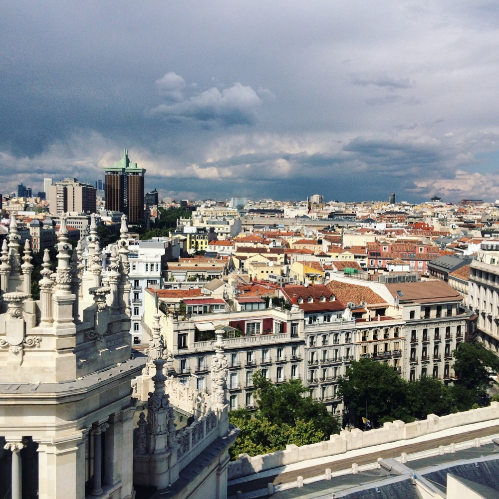 Madrid from above.