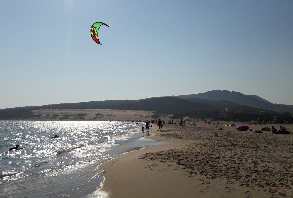 Less popular spots can offer you a unique experience. (Pictured:  Playa de Bolonia,  Cádiz)