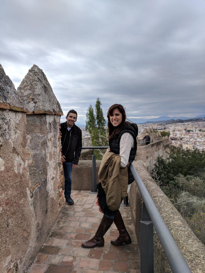 Castillo de Gibralfaro  in Málaga