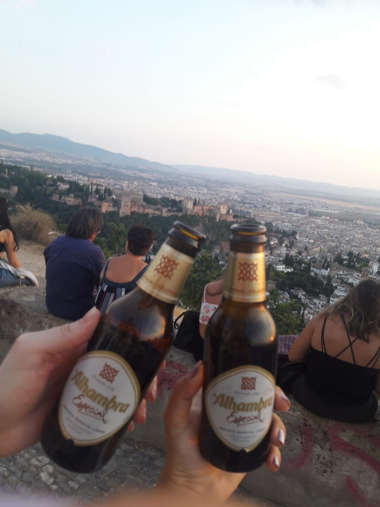 I like to make my Couchsurfers hike to the top of San Miguel Alto. I like to think the views are worth it.