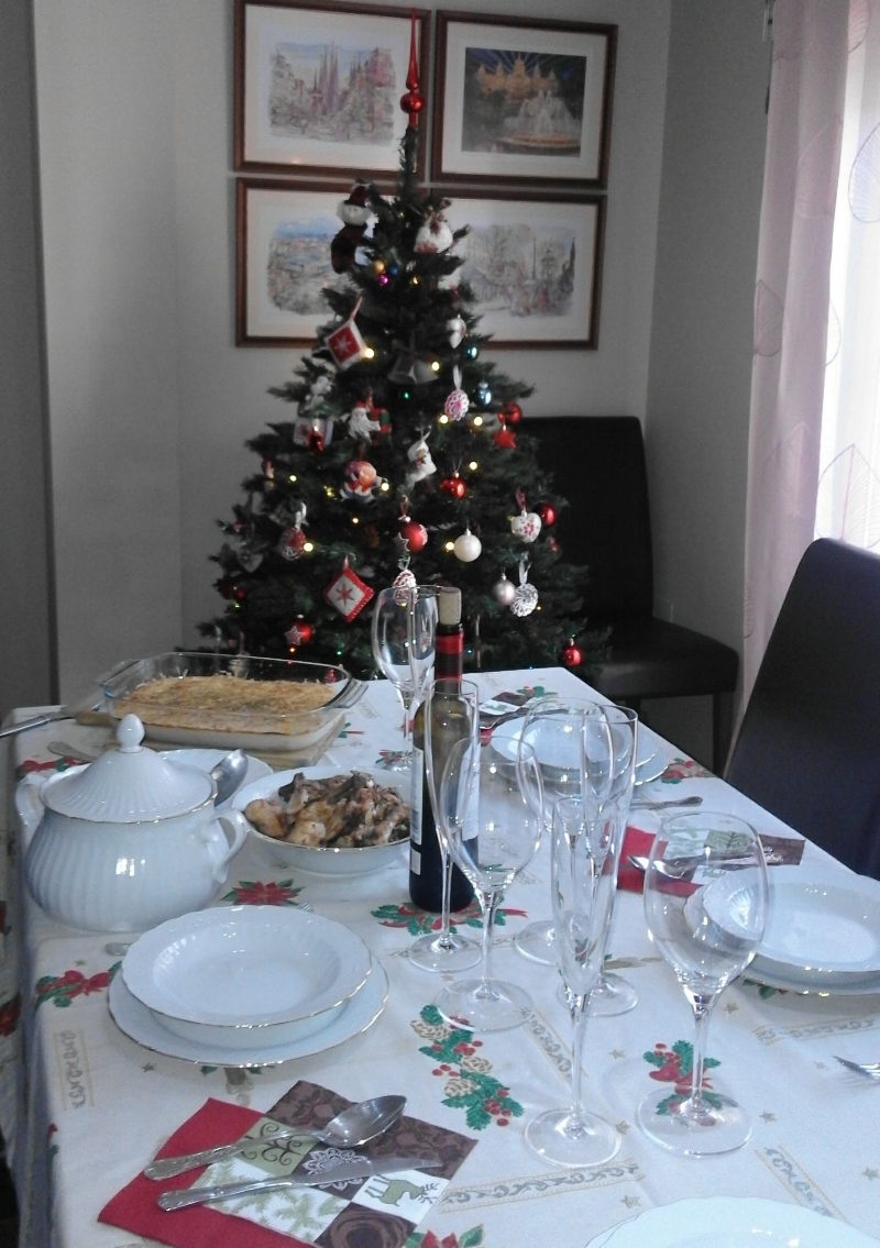 Whether or not our spread is as beautiful as that of other families I've spent Christmas with in the past, it will still be special!