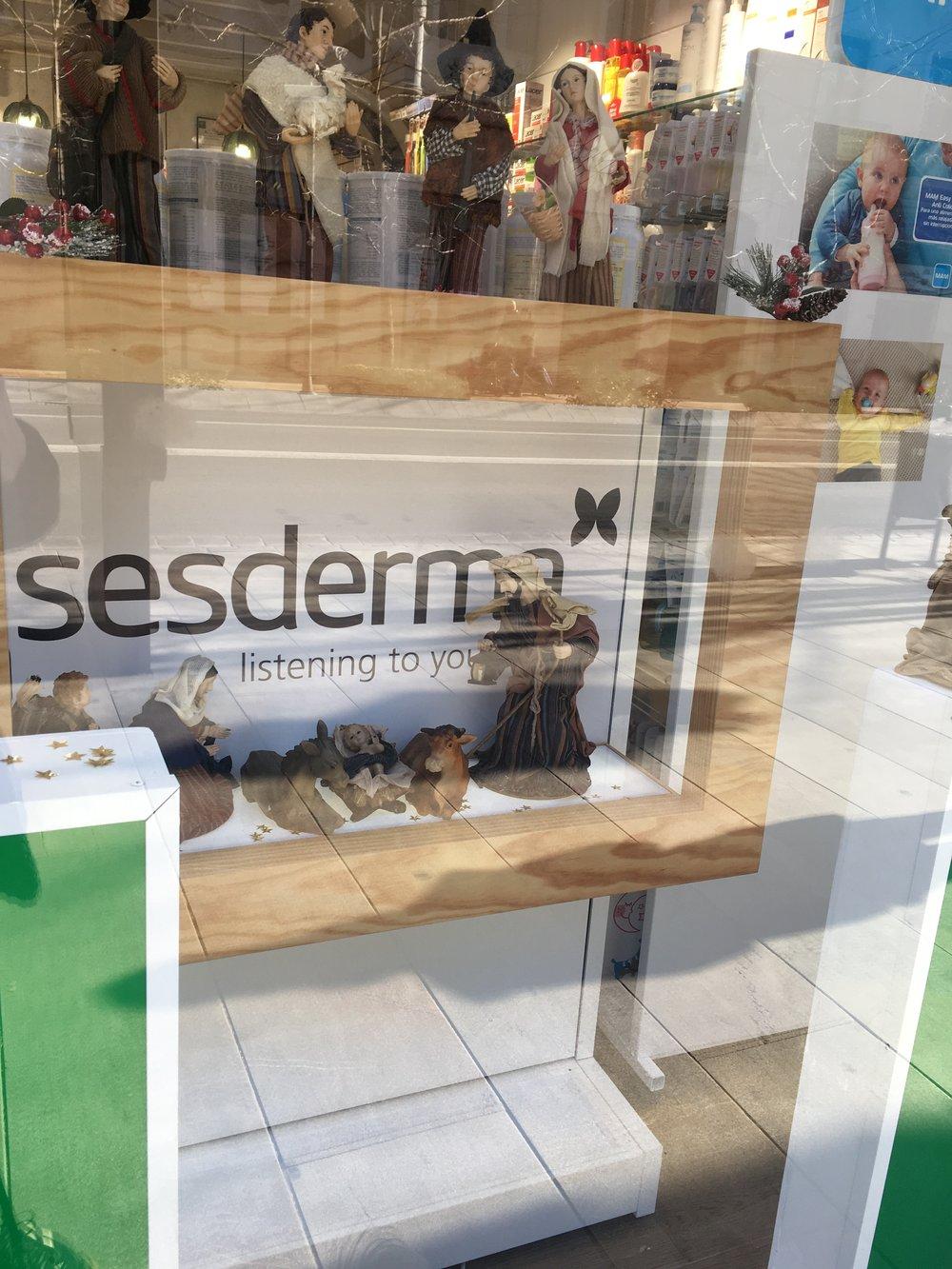 A storefront  Belén .