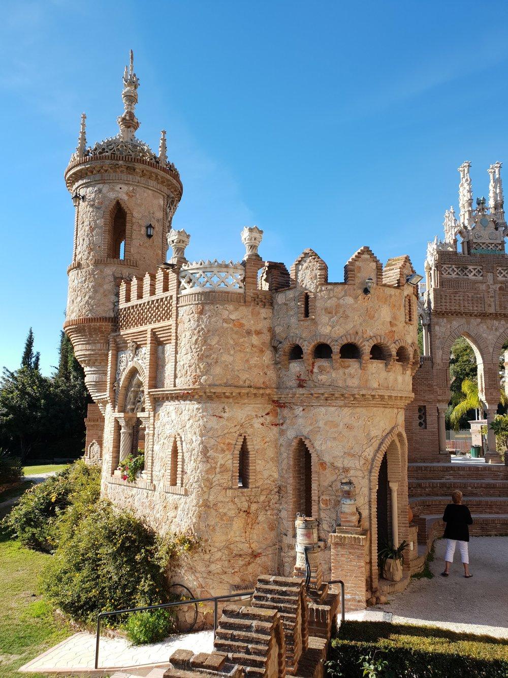 Described as a ' fantasia en piedra, ' or 'fantasy in stone,' the Castillo de Colomares truly will enchant you.