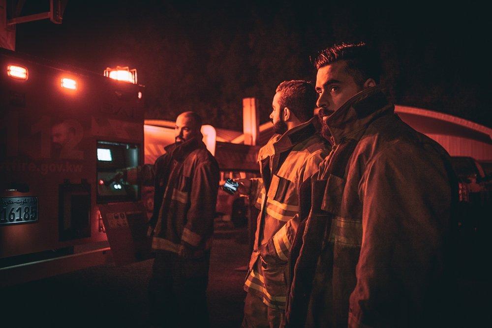 Firefighters are  funcionarios  too.